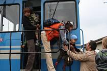 Den železnice v Nymburce