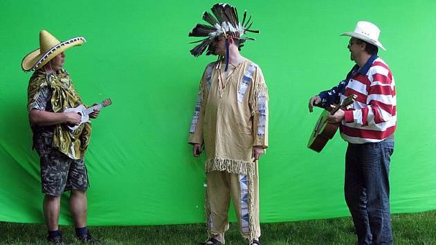 Z natáčení videoklipů Maxim Turbulenc na Jezeře