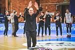 Basketbalový trenér Oren Amiel.