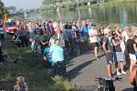 Lávka se dožila 33 let. V pátek 3. srpna skončila v řece.