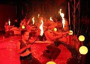 Děti z Masarykovy základní školy v Dymokurech nacvičily opravdový cirkusový program.