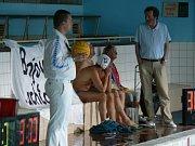 Natáčení v nymburském bazénu
