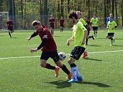 Fotbaloví starší dorostenci poděbradské Bohemie prohráli doma s týmem Uhlířských Janovic 1:4.