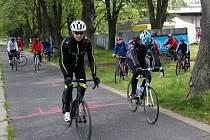 Cyklootvírák se startem i cílem v areálu pivovaru v Nymburce.