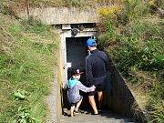 V tomto bunkru za hřbitovem by se měl rozjet projekt akvaponie, v rámci nějž budou pod zemí chovány ryby a pěstována zelenina.