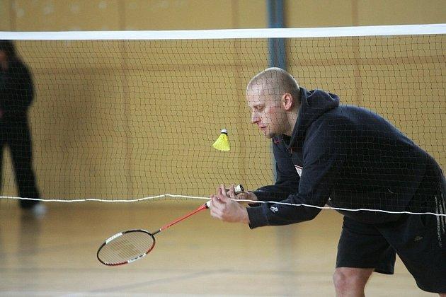 Z badmintonového klání v Nymburce