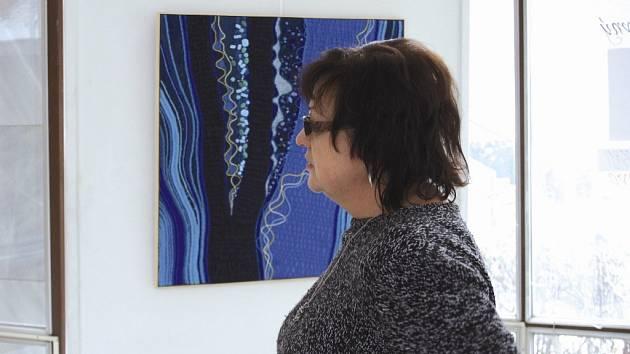 Výstava Svět je barevný v Galerii Ludvíka Kuby v Poděbradech.