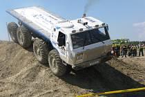 Ze závodů mistrovství České republiky v Truck Trialu.