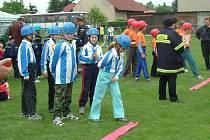 Ze soutěže mladých hasičů