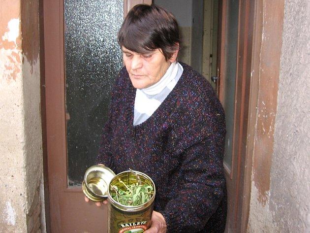 Mária Brodská zhruba před rokem a půl, kdy měla kvůli marihuaně problémy s policií a soudy.