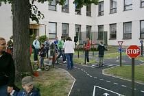 Městečtí otevřeli dopravní hřiště u školy