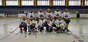 Hokejový turnaj středočeských policistů v Nymburce.