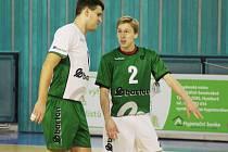 VLADIMÍR SADÍLEK (číslo 2) absolvoval první zápas v dresu Nymburka. A ten byl vítězný