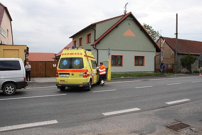 Nehoda v Krchlebích