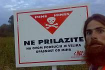 Cestovatel Petr Polák v Chorvatsku