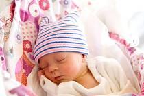 Denisa Balounová z Milovic se narodila v nymburské porodnici 12. března 2021 v 15.48 hodin s váhou 2050 g a mírou 44 cm. Z prvorozené holčičky se radují maminka Karolína a tatínek David.