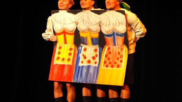 Z vystoupení Tanečního divadla BUFO Praha.