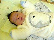 DAMIÁNEK MIKO RODIČE NAPÍNAL. Chlapeček se rodičům Lukášovi a Kláře narodil 10. listopadu 2017  v 9.21 hodin s mírami 50 cm a 3 380 g. Doma v Nymburce se z brášky raduje  sestřička Adrianka (6).