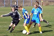 Fotbalistky Staré Lysé doma prohrály se Sláviíí