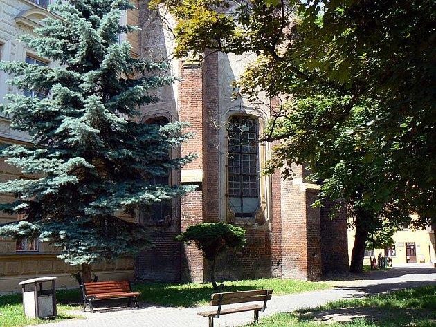 Kaple sv. Jana Nepomuckého v Nymburce.