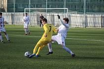 Z fotbalového utkání I.A třídy Bohemia Poděbrady - Záryby (1:2)