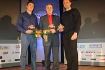 Zleva Martin, Josef a Petr Fuksovi