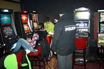 Kontroly v nymburských hernách