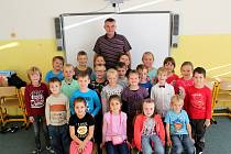 Základní škola Loučeň, třídní učitel Luděk Krpata