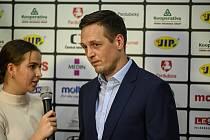 Z basketbalového utkání Kooperativa NBL Pardubice - Nymburk (65:102)