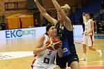 Basketbalový EuroCup Women: DSK Nymburk - ŽKK Cinkarna Celje 65:61.