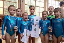 Poděbradské gymnastky