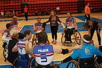 4 národní týmy basketbalistů na vozíku se utkaly na turnaji v Nymburce