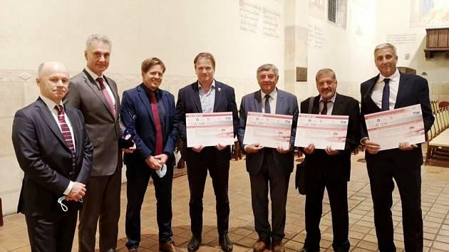 Ocenění získali v Lysé nad Labem za nový železniční nadjezd.
