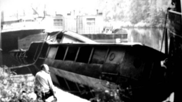 Poděbradský Titanic, loď Poděbradka, po ztroskotání