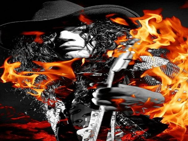 Americký kytarista a zpěvák Adam Bomb