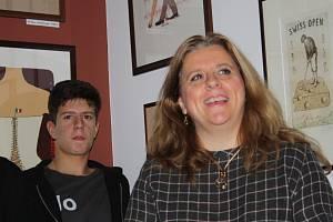 Zuzana Maléřová přijela do Kerska besedovat o své nové knize