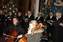 Tříkrálový koncert v Kostomlatech