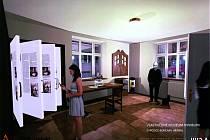 Vizualizace budoucí podoby Vlastivědného muzea.