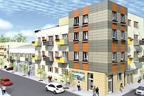Tak by měl vypadat bytový dům po celkové přestavbě Nároďáku.
