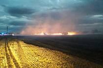 Z požáru v Krchlebech