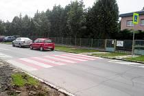 Parkování před školkou Větrník.