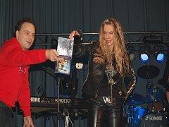 Křest CD a DVD Luboše Odháněla v Městci