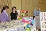 Velikonoční výstava připomněla řemesla, výtvarné techniky a dětem živá zvířata.
