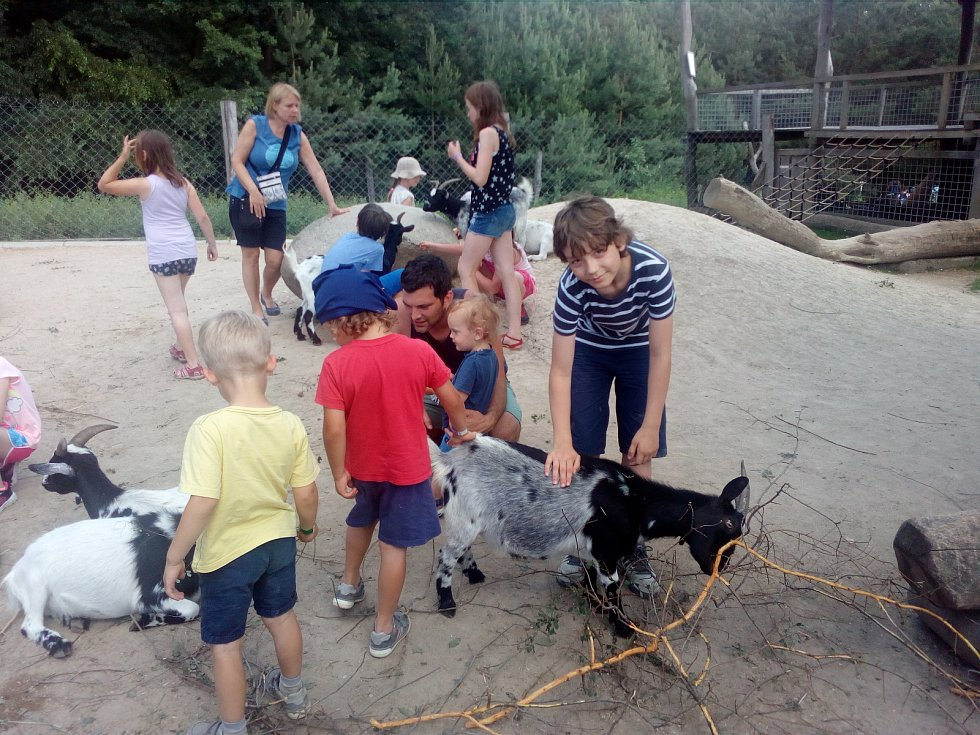 Den dětí se v milovickém parku Mirakulum povedl.