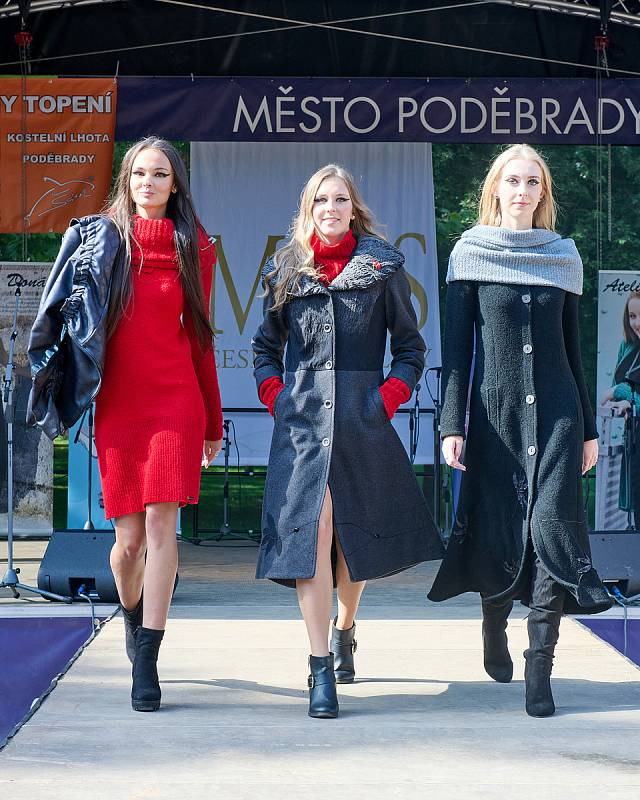 Ze soutěže krásy Tvář Poděbrad 2021.