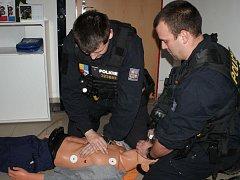 Zdravotnický kurz pro pořádkovou jednotku.
