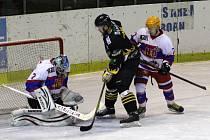 Z hokejového utkání druhé ligy Nymburk - Sokolov (2:7)