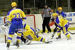 Z utkání druhé hokejové ligy Nymburk - Břeclav (3:2 sn)