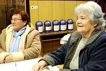MILADA TESLÍKOVÁ A ALENA ŠANCOVÁ přišly na promítání Filmové zimy spolu.