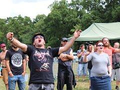 Rock of Sadská je jedním z dynamicky se rozvíjejících letních festivalů.